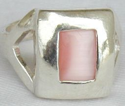 Primary image for Pink cat eye ring