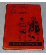 Juvenile Fiction Book The Prince and the Pauper Mark Twain - $15.95
