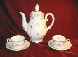 Germany US Zone Tea Set Saucer Cup Teapot Porcelain IJB - $49.99