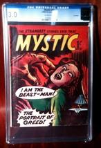 Mystic # 21 UK Edition 1962 Printing CGC Graded 3.0 - $64.95