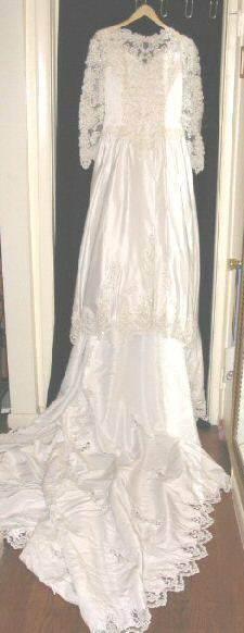 Lady Eleanor Wedding Gown Tiara Train 14 Bridal Dress
