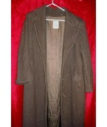 Jones New York JNY Winter Full Length Wool Coat 12 - $39.99