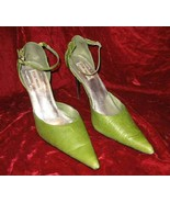 Steve Madden Buxum Leather Pumps Shoes 10 M Pointed Toe - $18.50