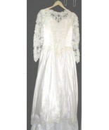 Lady Eleanor Wedding Gown Tiara Train 14 Bridal Dress - $125.00