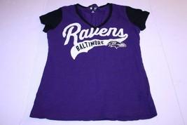 Women's Baltimore Ravens  XL T-Shirt Tee (Purple) NFL Team Apparel - $15.88