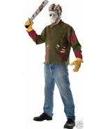 LICENSED JASON VOORHEES FRIDAY THE 13TH ADULT HALLOWEEN COSTUME SIZE STA... - $18.39