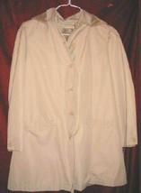 Womens Rainworthy Trench Coat Winter Jacket 12 Hooded - $22.50