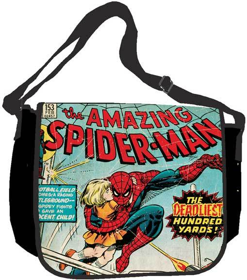 Marvel Comic: Amazing Spider Man Messenger Bag Brand NEW!