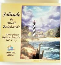 """SunsOut Jigsaw Puzzle Rudi Reichardt """"Solitude"""" 1000 Pieces"""