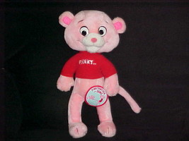 """14"""" Pinky Poseable Plush Doll With Tags From Pink Panther and Sons 1984 ... - $140.24"""