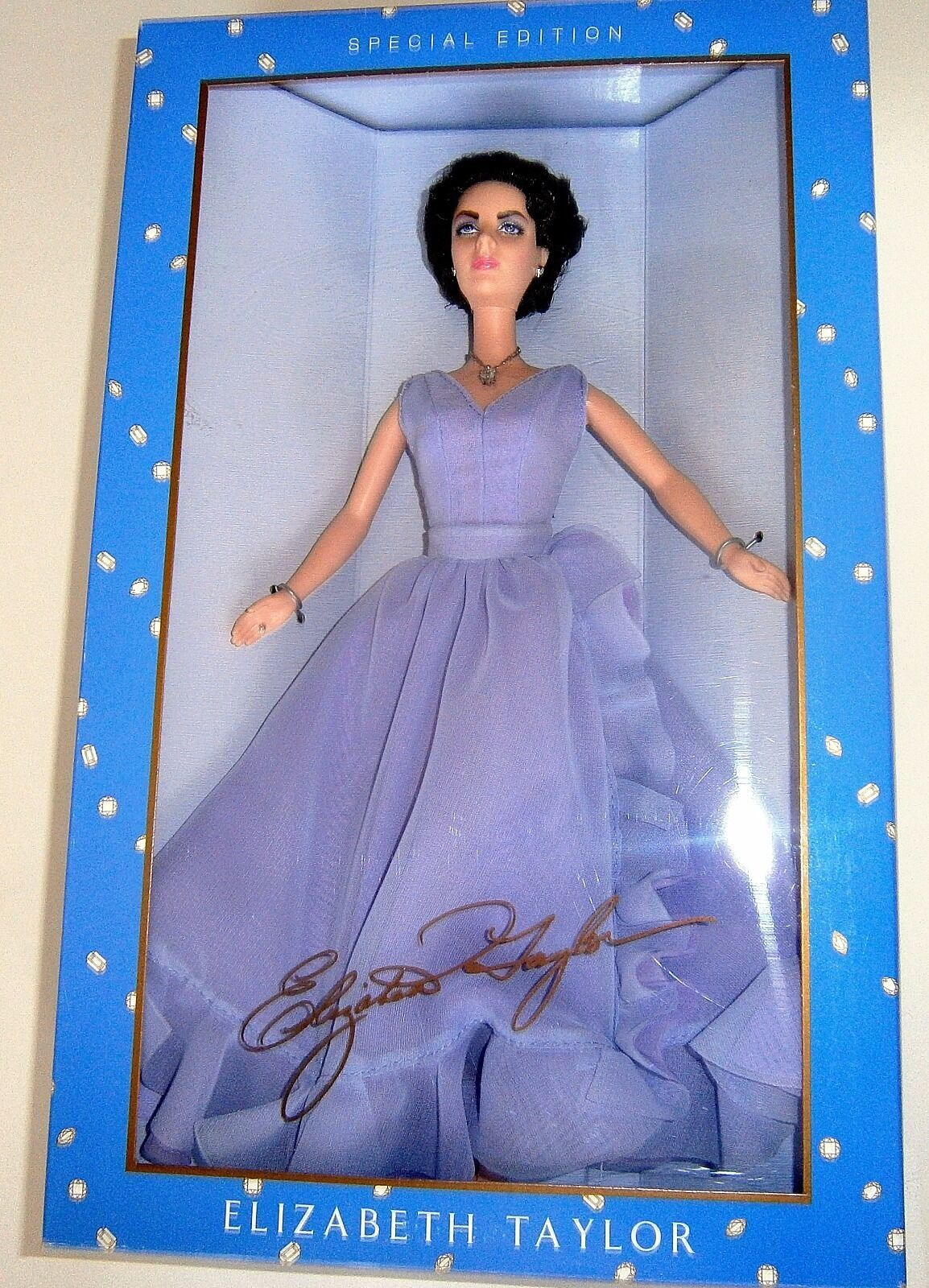 Primary image for Elizabeth Taylor Doll White Diamonds NEW