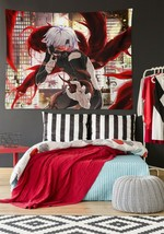 3D Tokyo Ghoul P63 Anime Tapestry Hanging Cloth Hang Wallpaper Mural Pho... - $10.55+