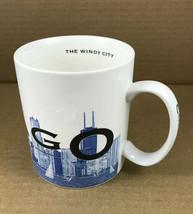 Starbucks 2002 Skyline Series CHICAGO The Windy City Coffee Mug Cup - 18... - $10.18