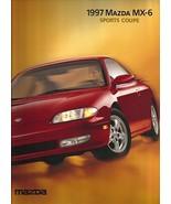 1997 Mazda MX-6 sales brochure catalog US 97 LS V6 MX6 - $8.00