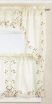 ROSEMARY EMBROIDERED CAFE CURTAINS - $14.84+