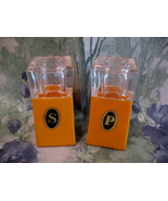 Retro Italy Italian Made Salt and Pepper Shakers Vintage Collector Colle... - $9.95