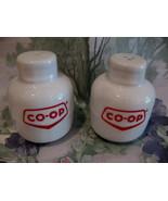 CO-OP Gas Propane Tanks Salt and Pepper Shakers Set Vintage Souvenir Col... - $9.95