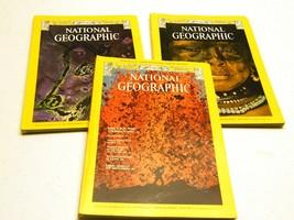 Set of 3 Vintage 1975 National Geographic (Jan/Feb/Mar) - $8.00