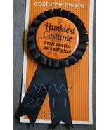 Hunkiest Costume More than Pretty Face Halloween Costume Prize Award Rib... - $2.00