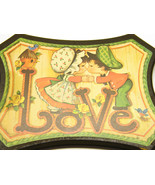 Love - Vintage Adorable Kissing Kids - $12.00