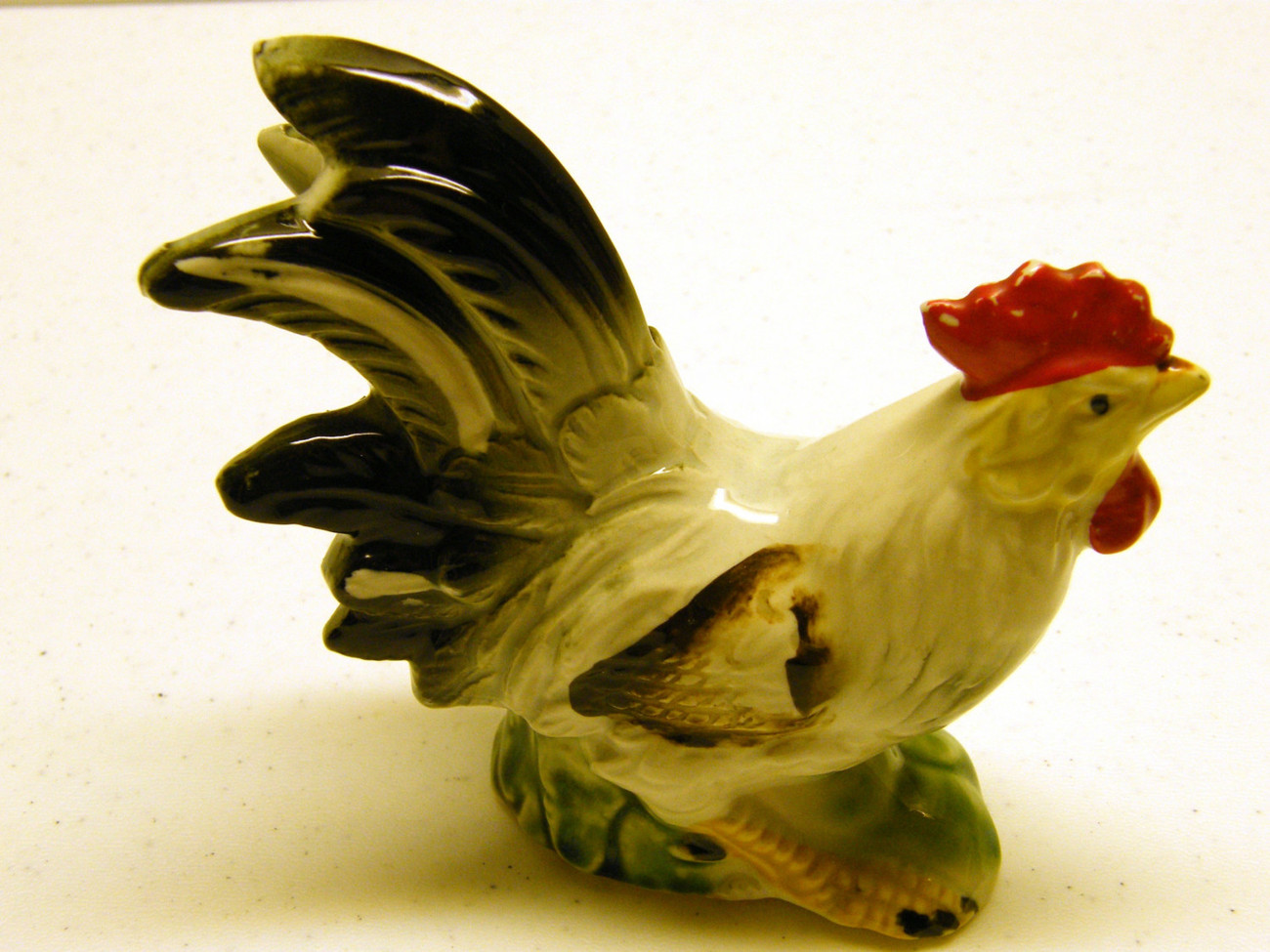 Handpainted Rooster Porcelain