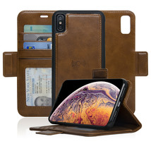 Navor Magnetic Detachable Wallet Case compatible for iPhone XS Max [6.5''] - $19.50