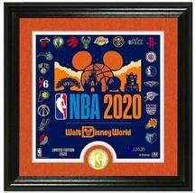 NBA Disney Monde'' Make Histoire '' Encadré Lithographie Avec Pièce Limi... - $197.99