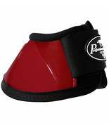 Large Professional Choice Flexible Comfort Horse Spartan Bell Boots Crim... - $35.63