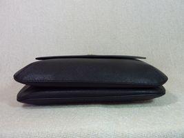 NWT Tory Burch Black Robinson Saffiano Combo Messenger Cross Body Bag image 6