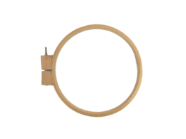 """Wooden Embroidery Hoops - 10"""" and 14"""""""