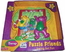 BARNEY Puzzle Friends Swing Set Fun - $49.49