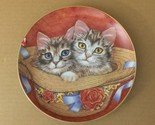 By and tammy purrfect pairs cat kitten robert guzman forbes danbury mint plate  1  thumb155 crop