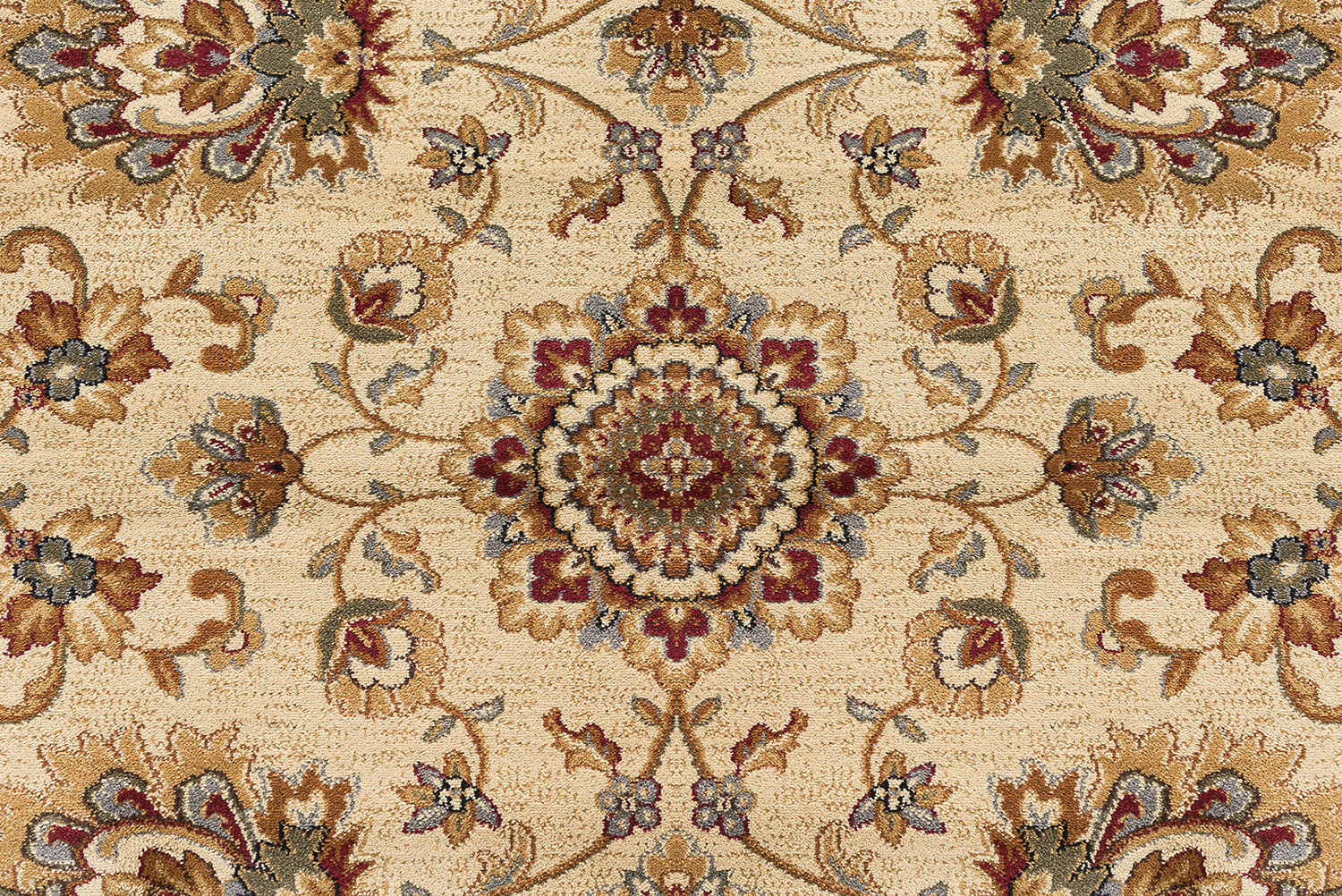 Octagon Traditional Oriental Persian Beige Area Rug **FREE SHIPPING**
