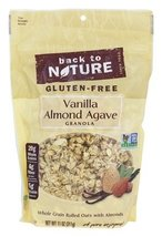 Back to Nature Gluten-Free Vanilla Almond Agave Granola 11oz 2 Pack image 3