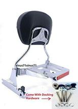 MyLohas Sissy Bar Backrest Luggage Rack & Docking Hardware for Harley Breakout 2 - $211.86