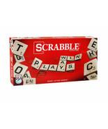Classic Scrabble Crossword Board Game Hasbro Gaming Made in USA Brand Ne... - $19.99