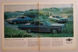1968 Print Ad Chevrolet Nova, Impala, Chevelle SS Super Sport Chevy - $13.71