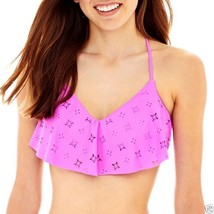 Arizona Flounce Bralette Swim Top Lotus Size XS, S, M New Msrp $28.00 - $13.99