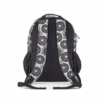 Brand New Studio C Hello Dahlia Black & White Floral Backpack 51251292 image 2