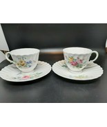 Royal Doulton ARCADIA demitasse cups and saucers (pair) EXCELLENT CONDITION - $25.00