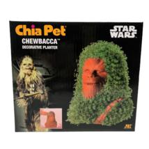 Chewbacca Chia Pet Pottery Planter Growing Kit Star Wars Chewie Indoor Garden - $21.90