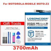Losoncoer 3700mAh HD40 SNN5987A Good Quality Battery For Motorola-mobile MOTO-Z2 - $20.78