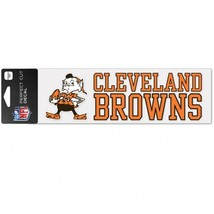 Cleveland Browns Decal 3x10 Perfect Cut Color Wordmark**Free Shipping** - $14.90