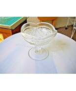 U.S. Glass EAPG 1915 Sunbeam Open Candy Nut Bowl - $11.88