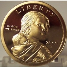 2000-S DCAM Proof Sacagawea Dollar PF65 #0209 - $4.79