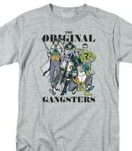 DC Villians Heroes T-shirt retro 80s comic book Joker Riddler grey tee DCO821B image 2