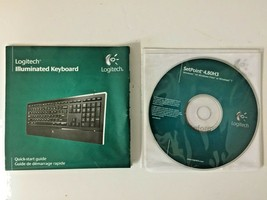 Logitech Illuminated Keyboard SetPoint software and quick start quide - $5.00