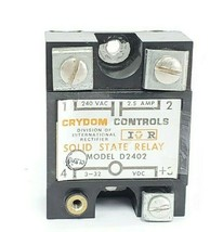 CRYDOM D2402 SOLID STATE RELAY 240 VAC 2.5 AMPS image 1
