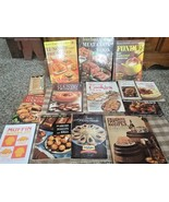 Vtg Cookbooks Lot/13 Better Homes & Gardens Fondue Lunch Cookies Meat Va... - $16.82