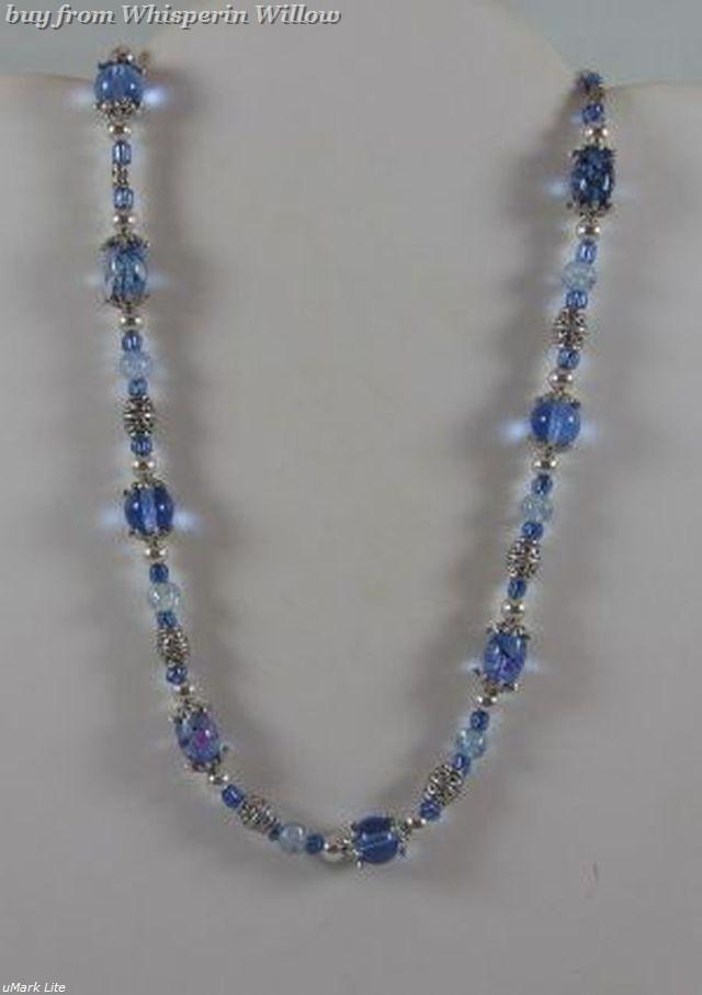 Primary image for Crystal Blue Persuasion Necklace
